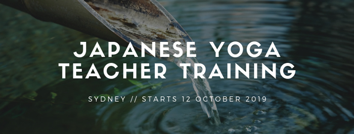 japanese yoga teacher training sydney 2019